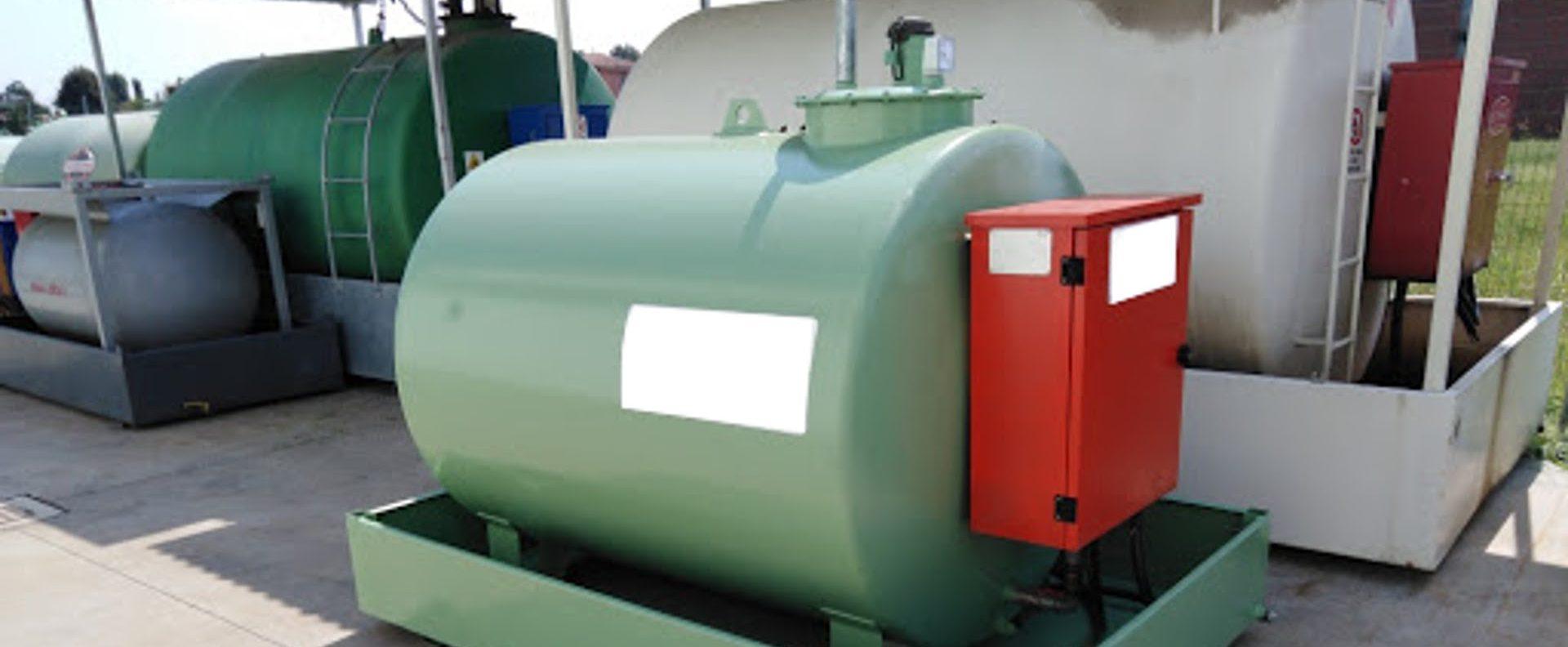 Depositi gasolio in agricoltura